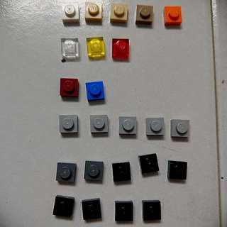 Lego square studs