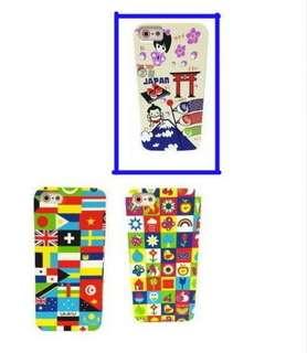 旅遊系列 iphone SE 5 S case 軟膠面正版 日本 風格 圖案凹凸紋效果效果 出售藍圈版