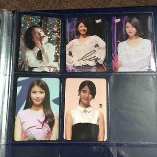 IU 李知恩 Yes Card