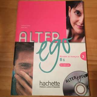French Alter Ego Methode de Francois 3 B1 incl. CD