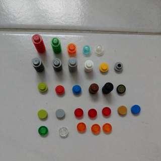 Lego round studs