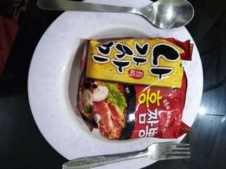 Korean Seafood noodles
