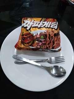 Black Spicy Noodles