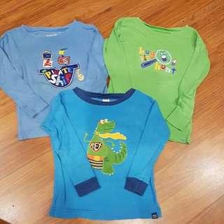 Preloved Baby Gap 3-6months sleepwear. 3 for RM9