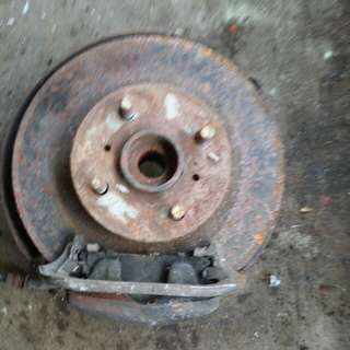 Disc brake toyota ae 111