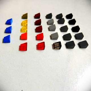 Lego slant studs