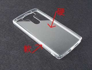 四邊軟包膠 背部柔韌亞加力透明 LG V10 case 保護套 手機殼 連 電話繩扣 防塵塞 抗黃膠邊