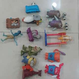 Bundle Of Mcd Toys