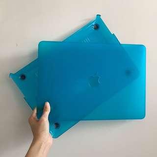 """95%新 MacBook 13"""" 光藍電腦殼 面+底板"""