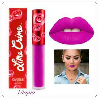 LIME CRIME LIP CREAM  PART II.. 50 only.. 45 min of 12pcs..