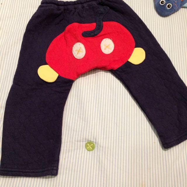 迪士尼鋪棉褲(12-18m)