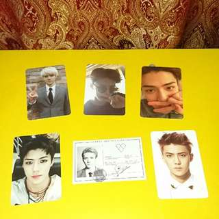 EXO SEHUN PHOTOCARDS