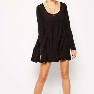 One Teaspoon Black Swing Dress