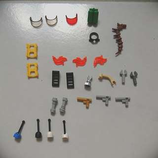 Lego parts and accessories