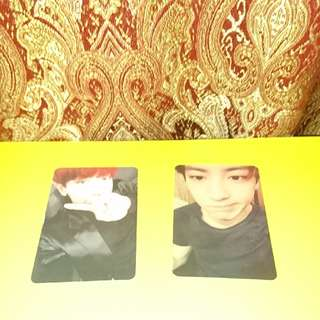 EXO CHANYEOL PHOTOCARD
