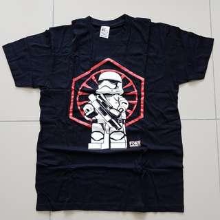 Lego Star Wars The Force Awakens Storm Trooper Tshirt
