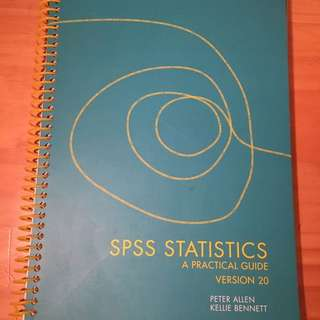 NEW SPSS Statistics A Practical Guide v20