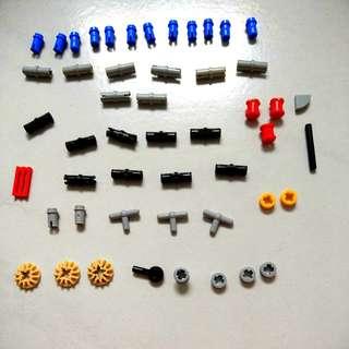 Lego spare parts, joints, connectors