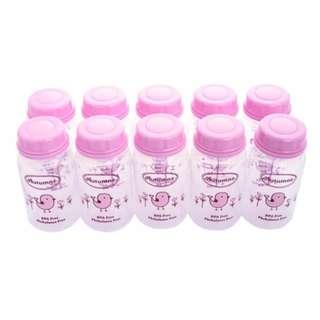 10 x Autumnz PP B/Milk Storage Bottle (Pink Tweety Birds)