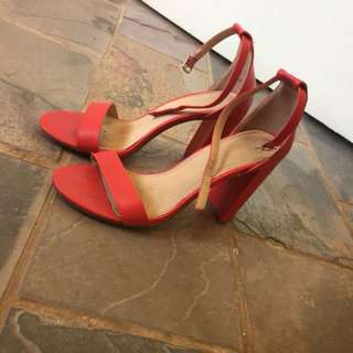 Barely used ladies high heel shoes
