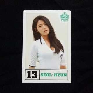 AOA Seolhyun Heart Attack player card