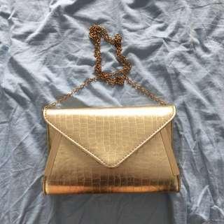 Colette Golden Bag