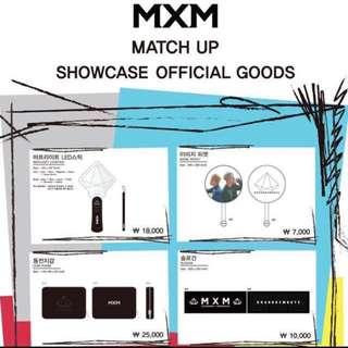 MXM Match Up Showcase Official Goods