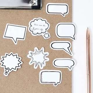 Speech Bubble Sticker