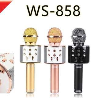 BNIB WS-858 Bluetooth Karaoke Mic
