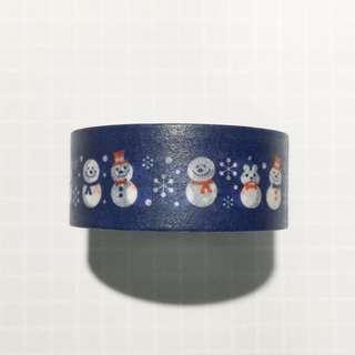 Snowman Washi Tape