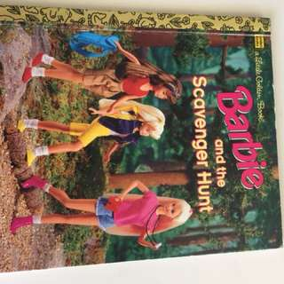 Barbie And The Scavenger Hunt Little Golden book