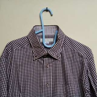 Kemeja Gingham Male Co Original