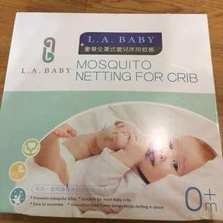 嬰兒床紋帳