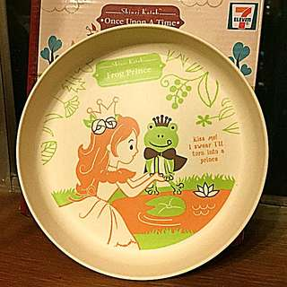 7 Eleven Shinzo Katoh Licensed Once Upon A Time Collection Bamboo Plate Bowl Frog Prince