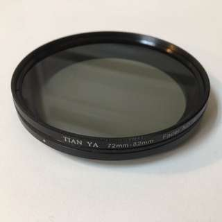 72mm ND filter