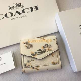 Ready Stock Authentic Coach women wallet purse pouch coin bag