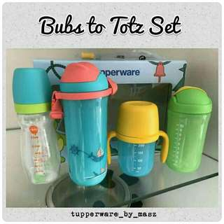 Bubs To Totz Set (Tupperware - New)