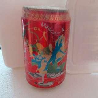 可口可樂 上海世博會開幕紀念罐coke coca cola