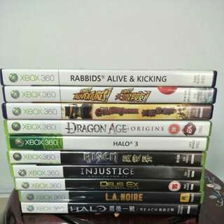 Xbox 360 Games x 10 pcs