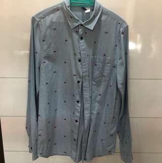 H&M Gamer Blue Shirt