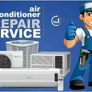 Aircon Installation, Maintenance, Repair and Services (Split and Window Type) Inverter and Non inverter