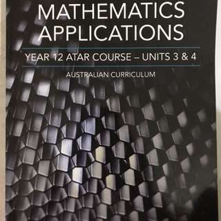 AUSMAT mathematics applications course unit book