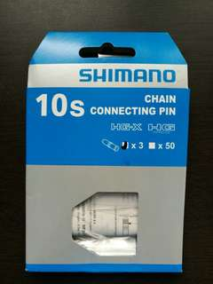 Shimano 10 speed chain pins.