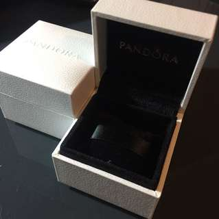 Pandora charm gift box with pillow