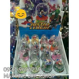 For Sale Justice League Super Hero 16in1 Minifigures with Acrylic Casing Included