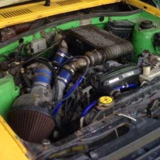 Toyota Starlet Kp61 (starlet Kambing)