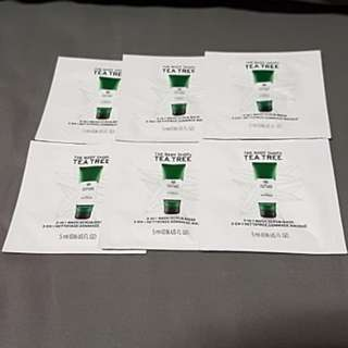 The Body Shop Tea Tree Samples