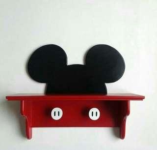 Mickey Wood Shelf