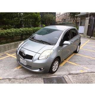 俊英汽車-2007 TOYOTA YARIS 1.5 僅跑10萬