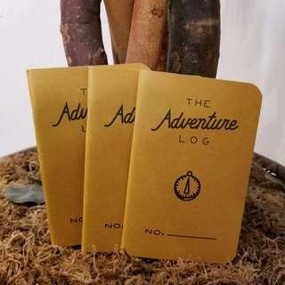 Adventure Log Books